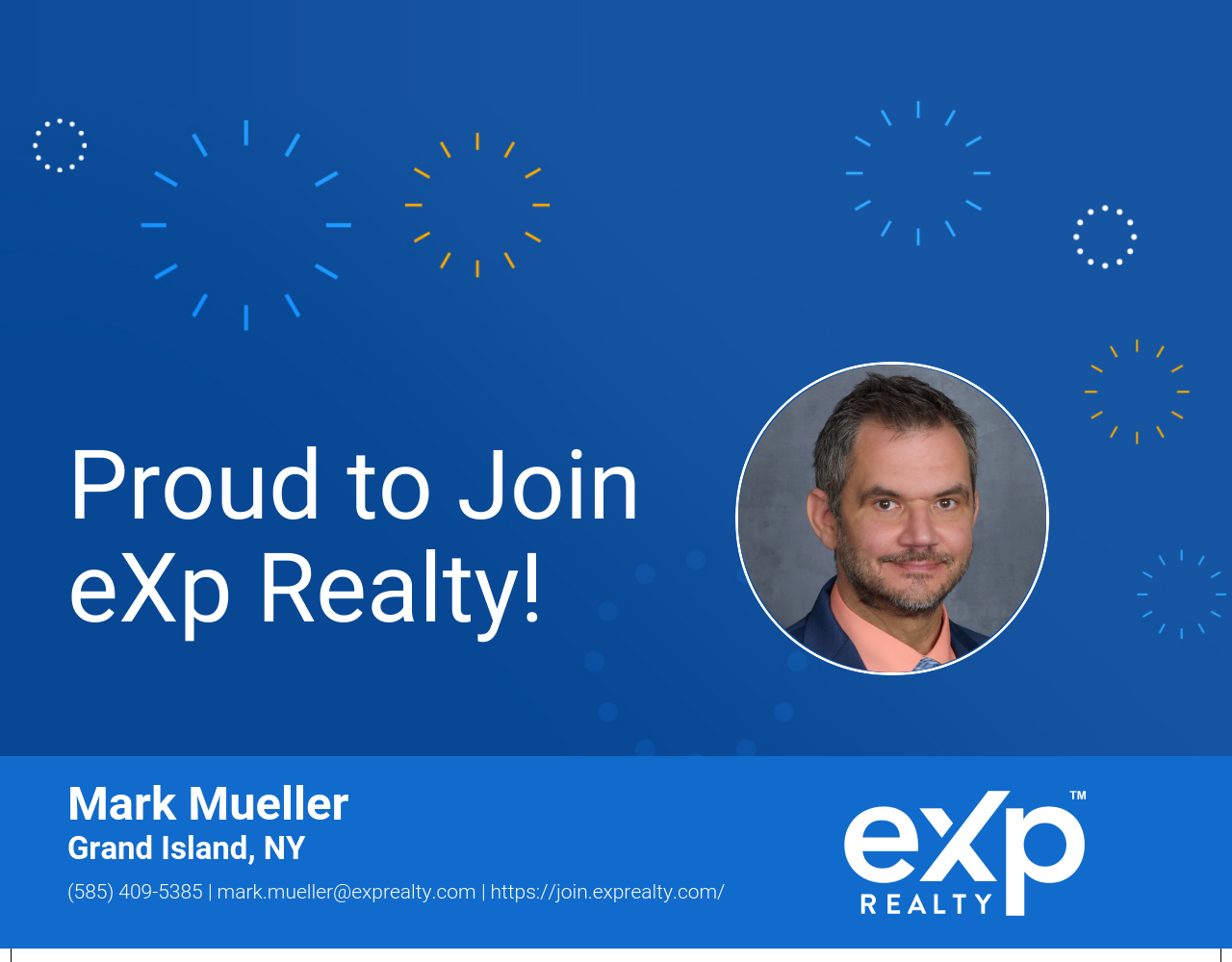 Mark Mueller Joined eXp Realty!