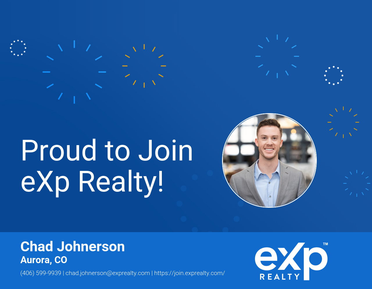 Chad Johnerson Joined eXp Realty!