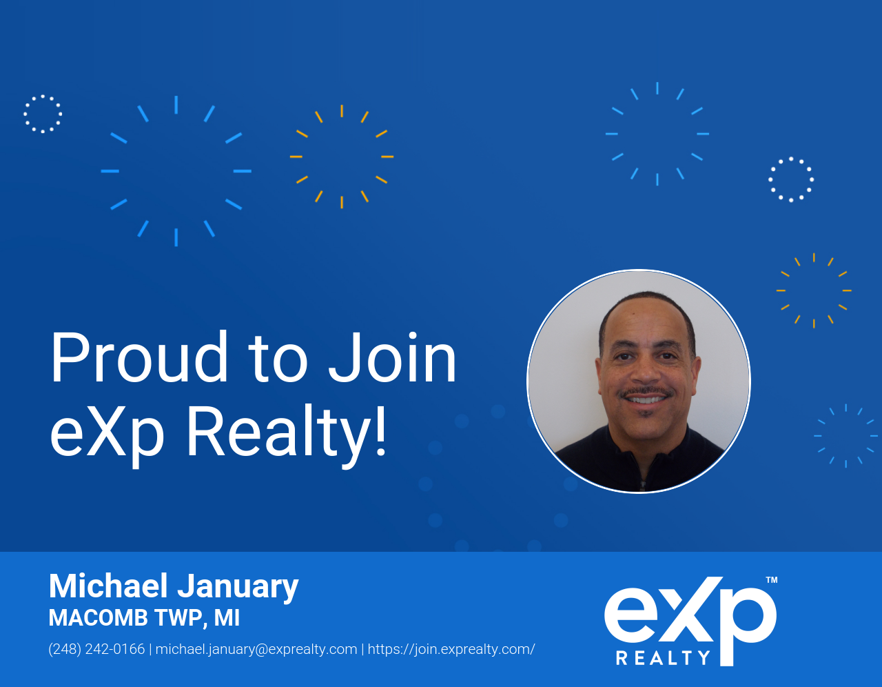 eXp Realty Welcomes Michael January!