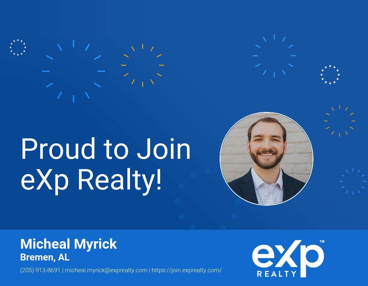 Micheal Myrick Joined eXp Realty!