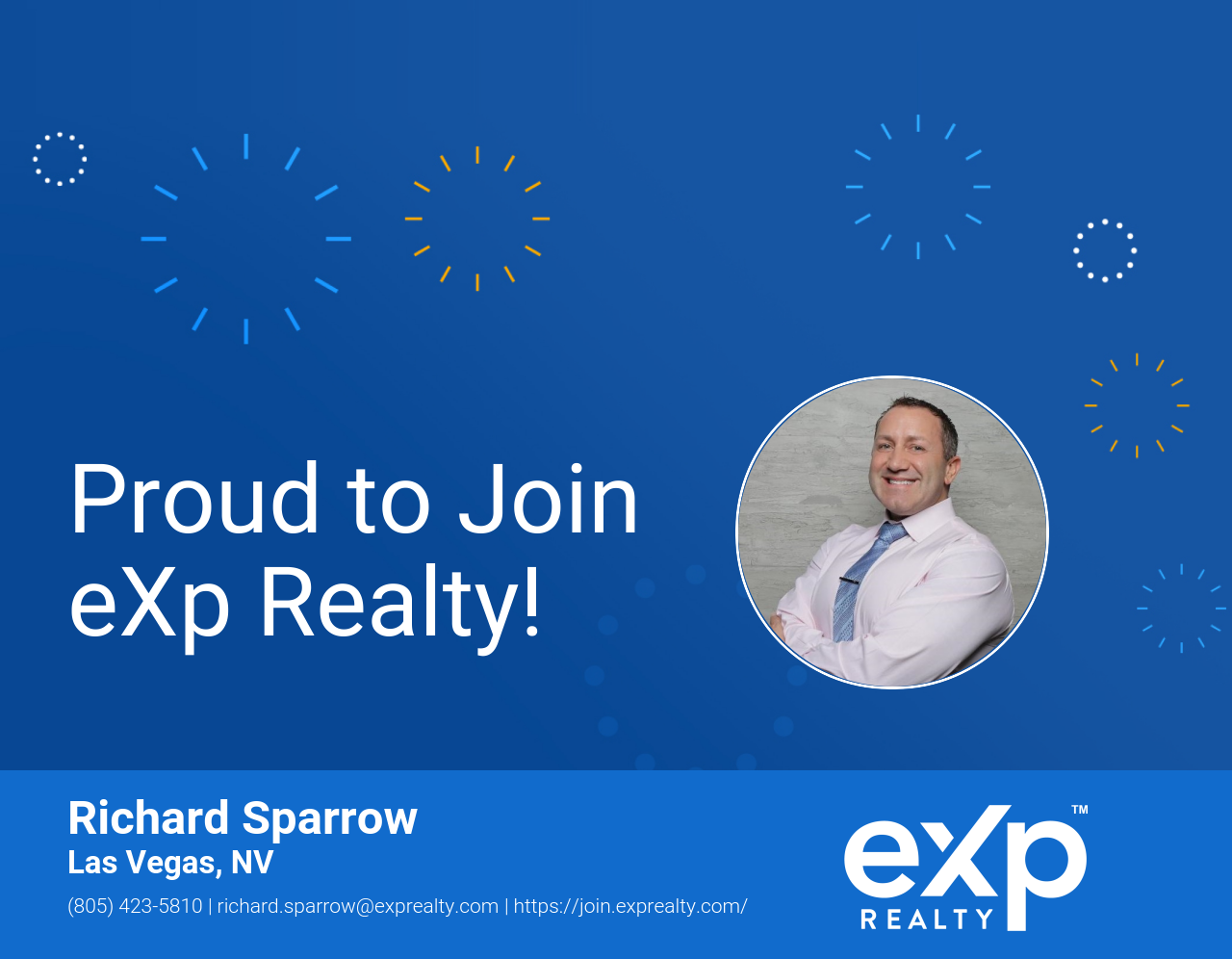 Richard Sparrow Joined eXp Realty!