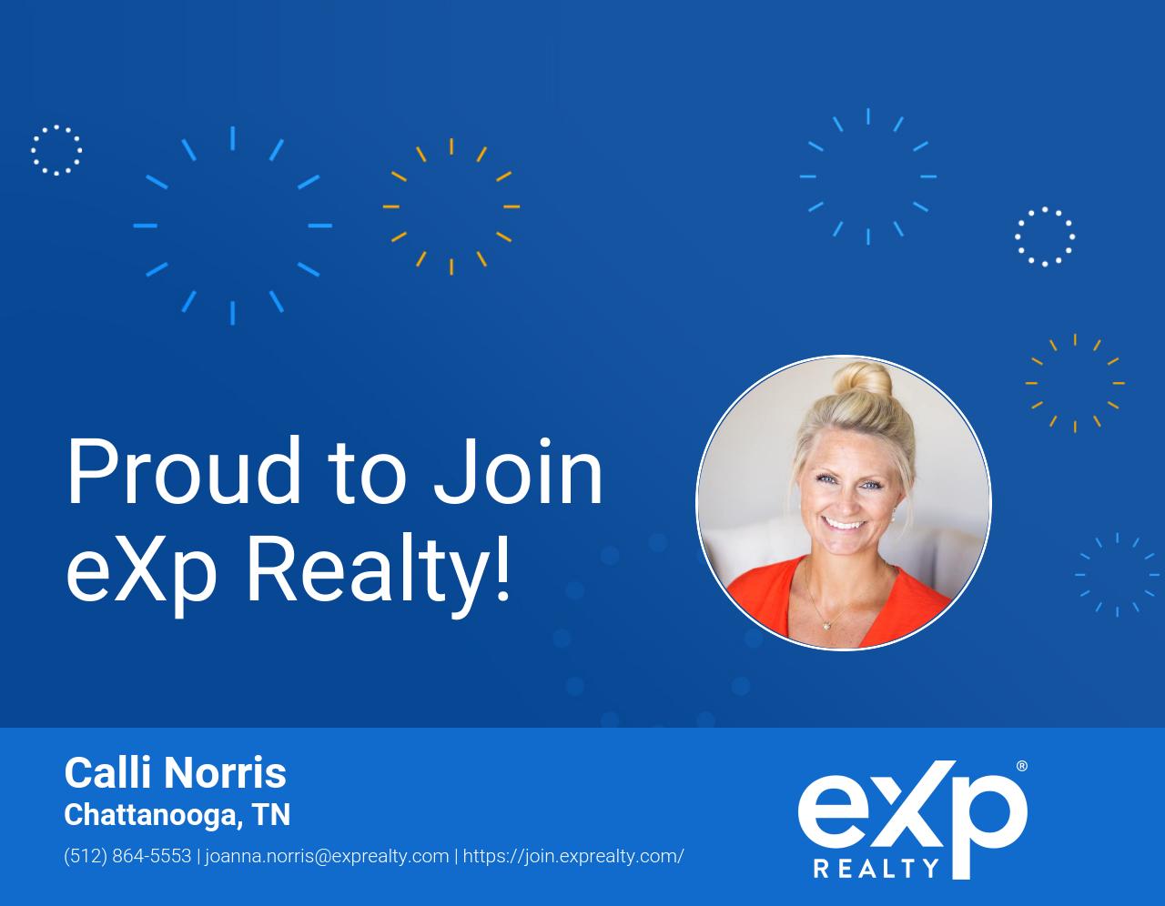 eXp Realty Welcomes Calli Norris!