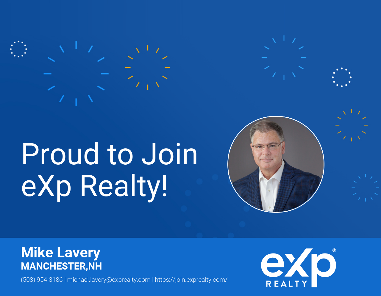 eXp Realty Welcomes Mike Lavery!