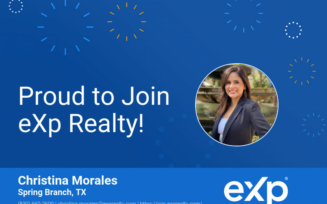 eXp Realty Welcomes Christina Morales!