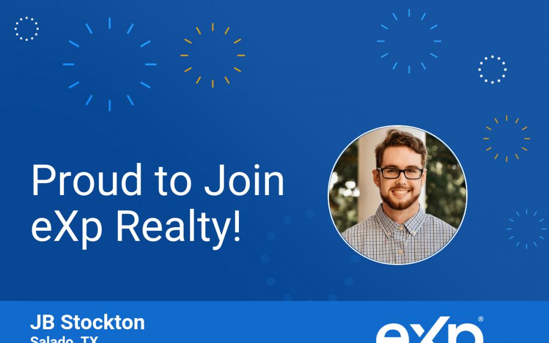 JB Stockton Joined eXp Realty!