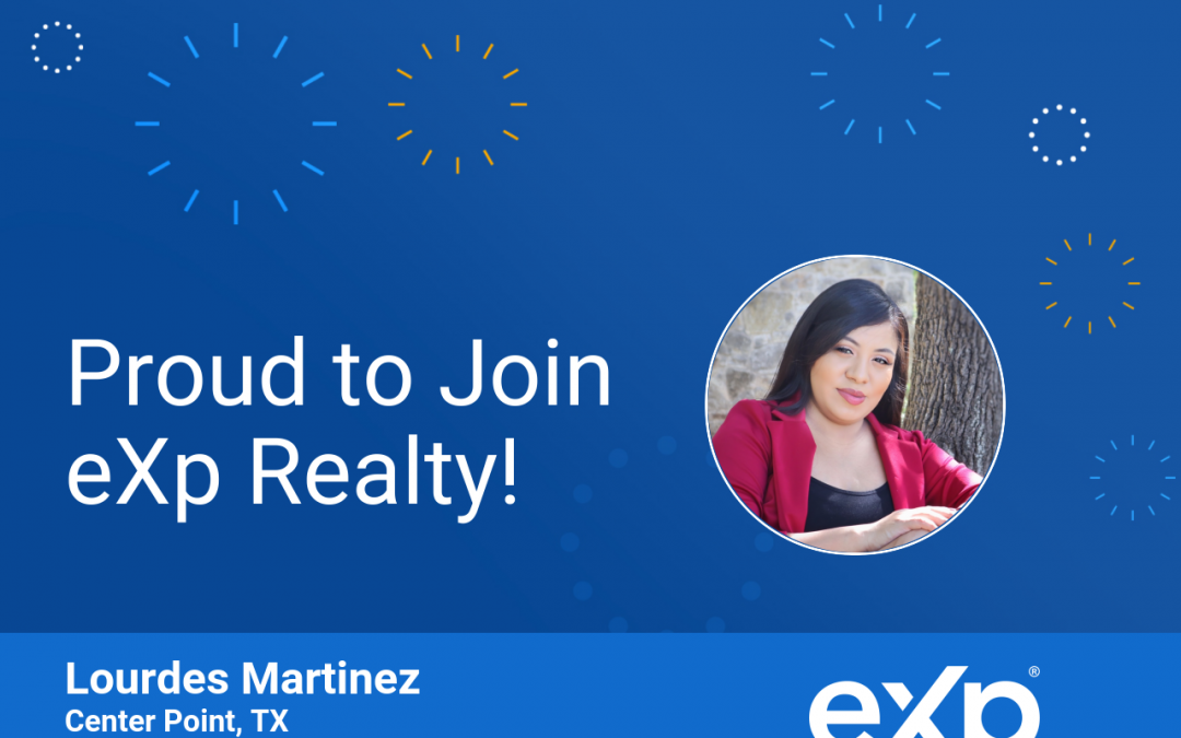 Lourdes Martinez Joined eXp Realty!