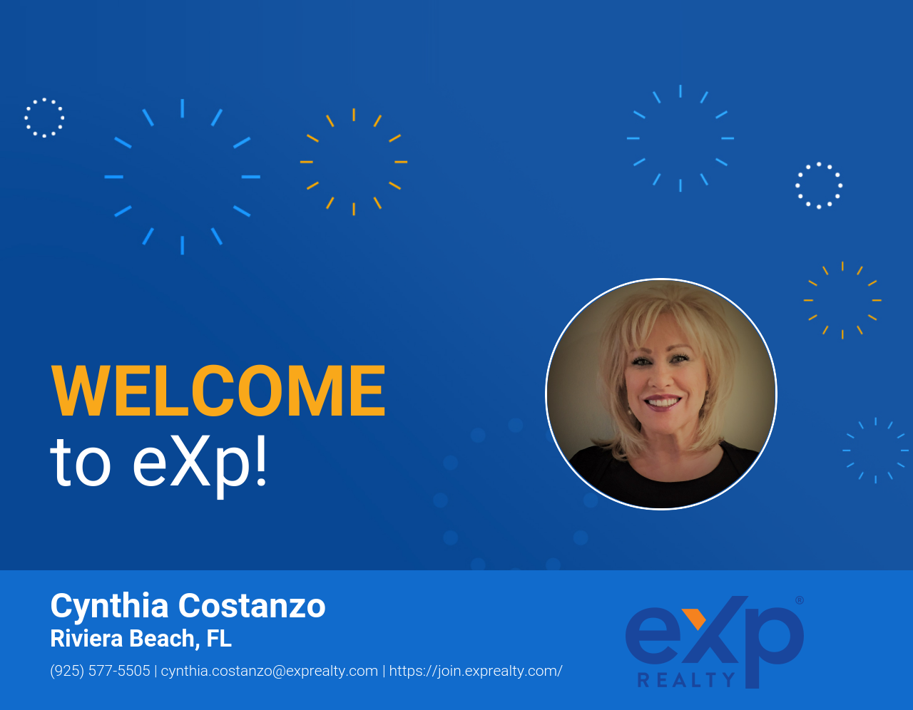 Cynthia Costanzo Joined eXp Realty!
