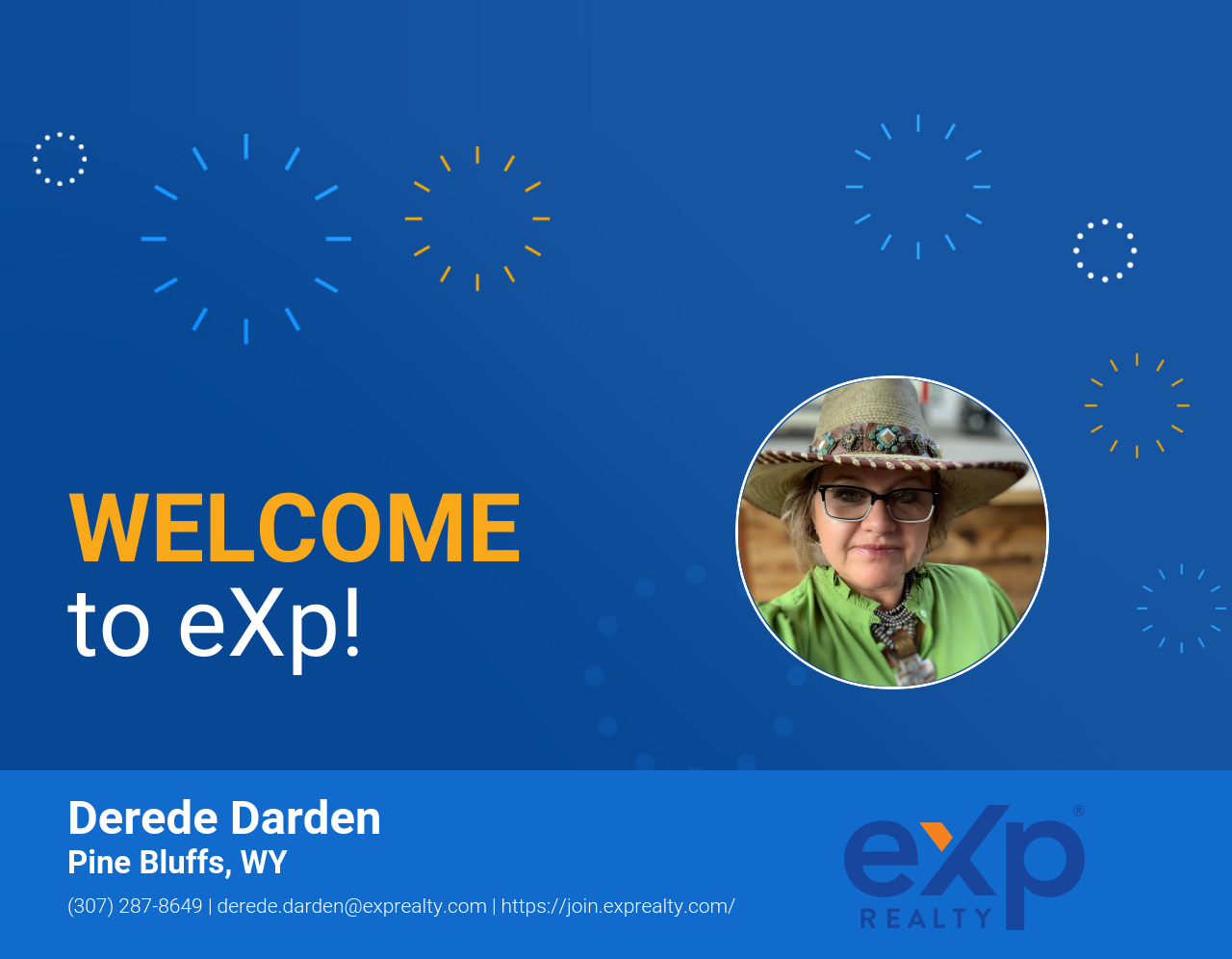 Derede Darden Joined eXp Realty!